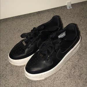 Nike Air Force 1 Sage Low / Black